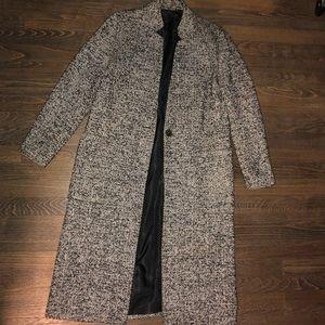 Zara long duster coat
